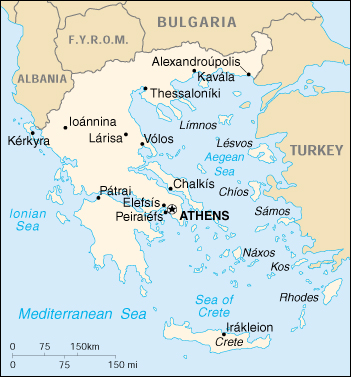 Cia world map of greece greece cia map gumiabroncs Choice Image