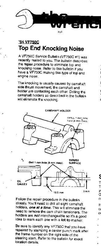 robyn landers\u0027 motorcycling page, 94 magna cam noise infofor a bit more detail, here is an enlargement of the diagram from above bulletin (75 kb jpg) finally, someone else on the web has provided yet another